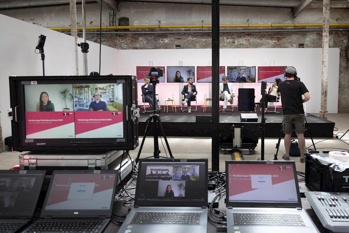 PŸUR Business war Digitalisierungspartner der Medientage Mitteldeutschland
